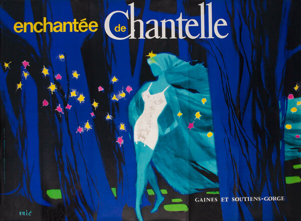 Enchantee de Chantelle French Lingerie Poster
