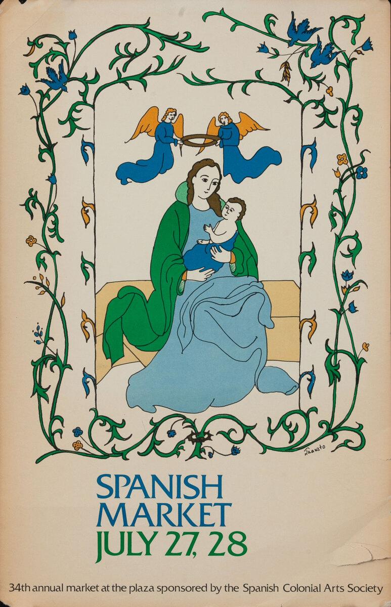 34th Annual International Santa Fe Spanish Market 1985