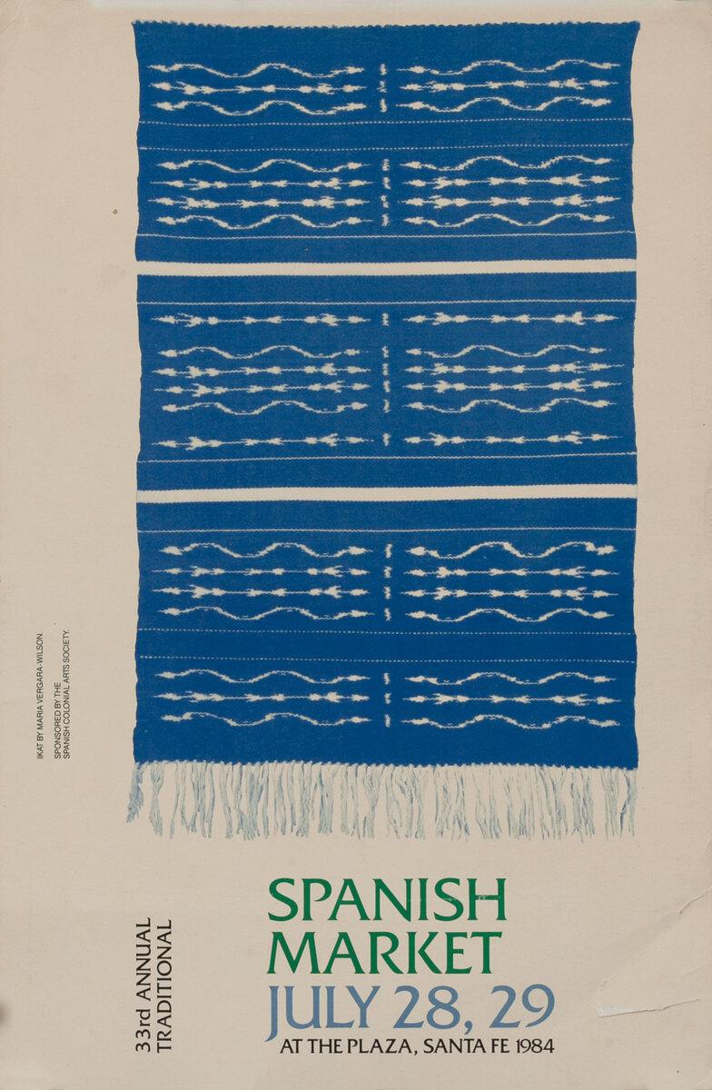 33rd Annual International Santa Fe Spanish Market 1984