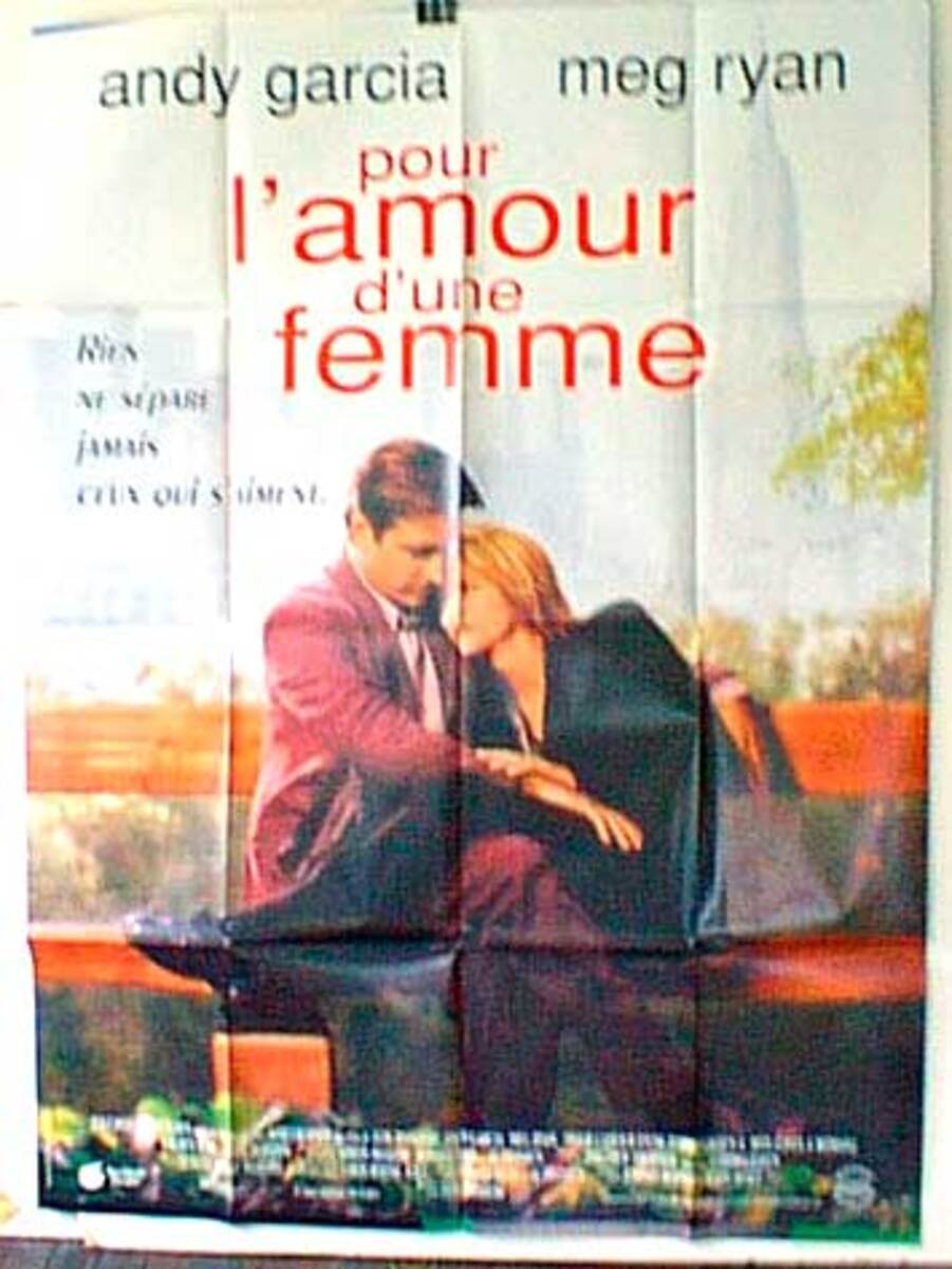 When a Man Loves a Woman Original French Movie Poster