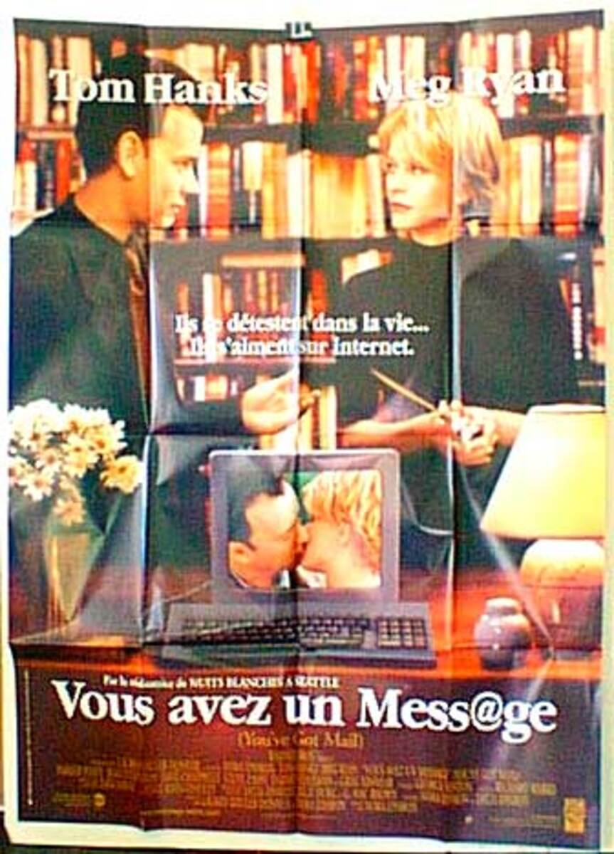 You've Got Mail Original French Movie Poster