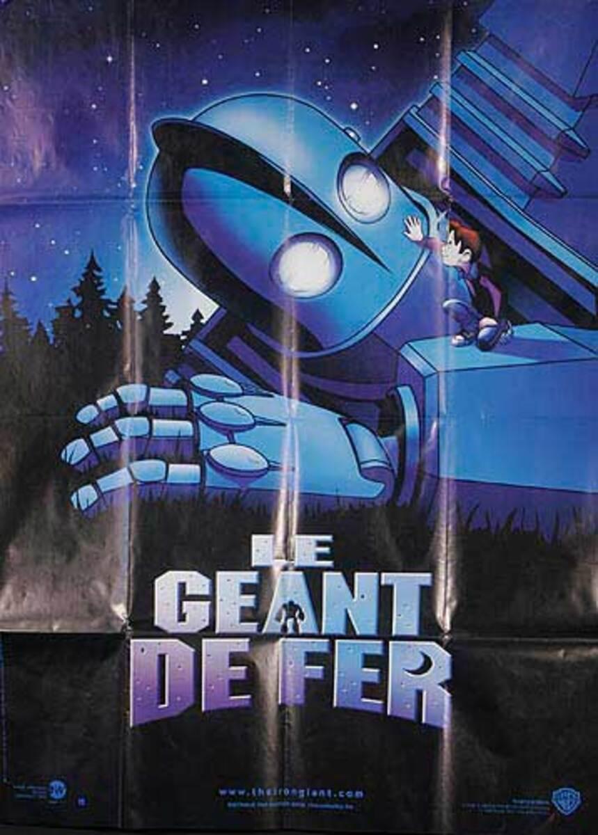 Iron Giant Original French Movie Poster