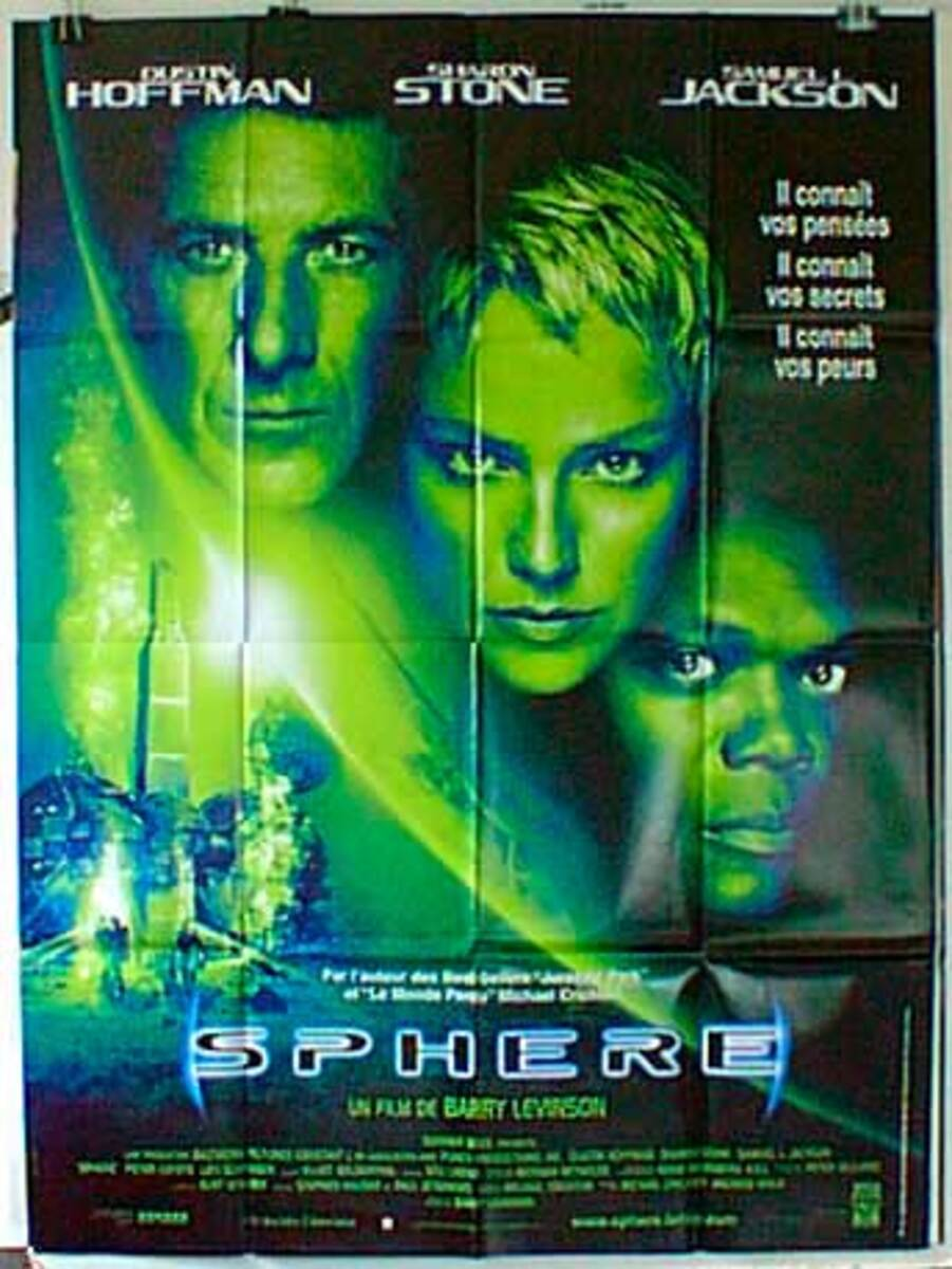 Sphere Original French Movie Poster