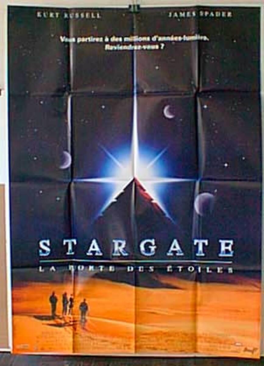 Stargate Original French Movie Poster