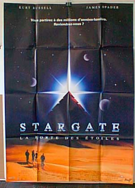 Stargate Original French Movie Poster