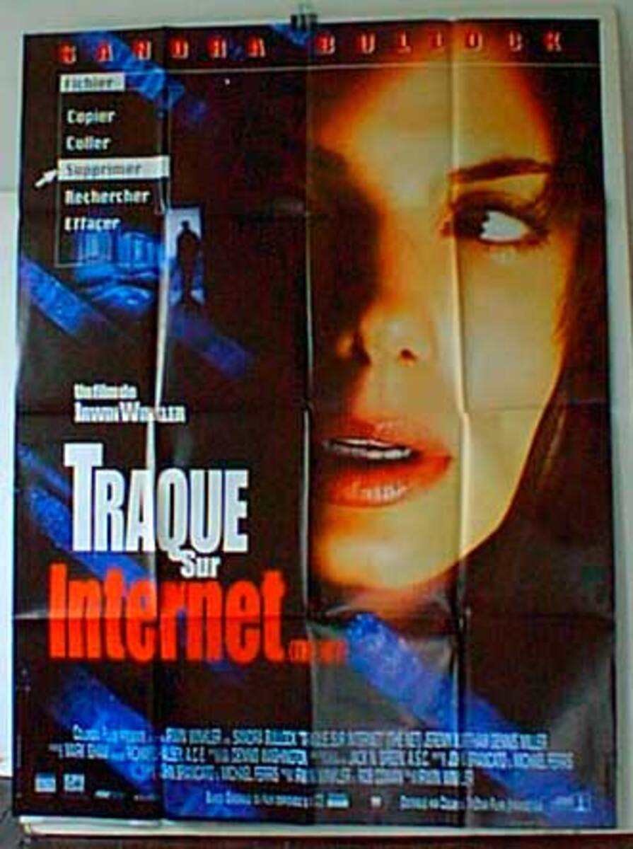 The Net Original French Movie Poster