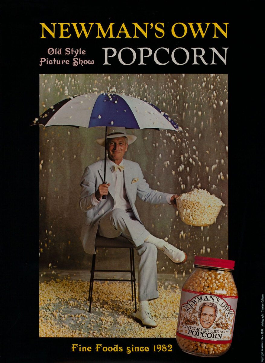 Newman's Own Popcorn  - Fine Foods since 1982