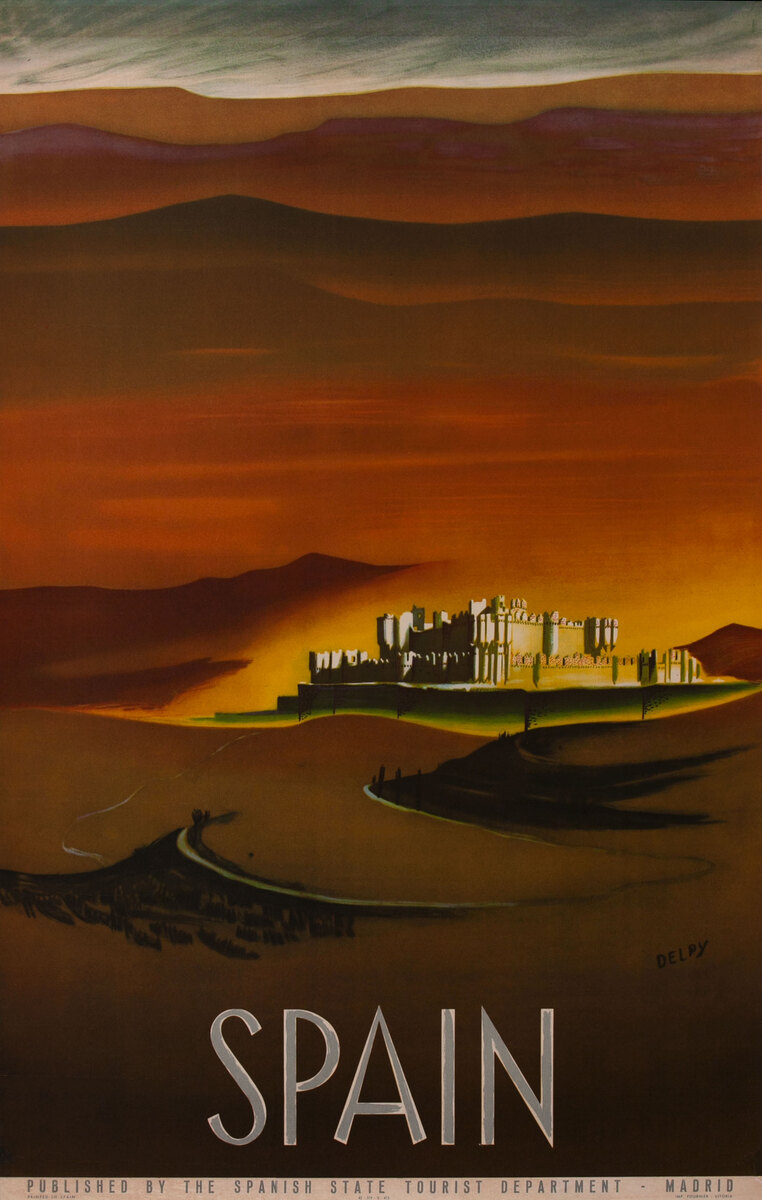 Spain - Castle Scene