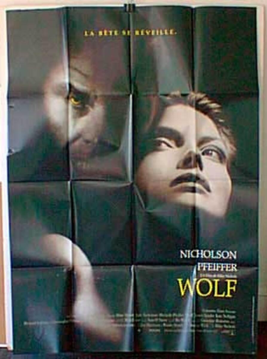 Wolf Original French Movie Poster