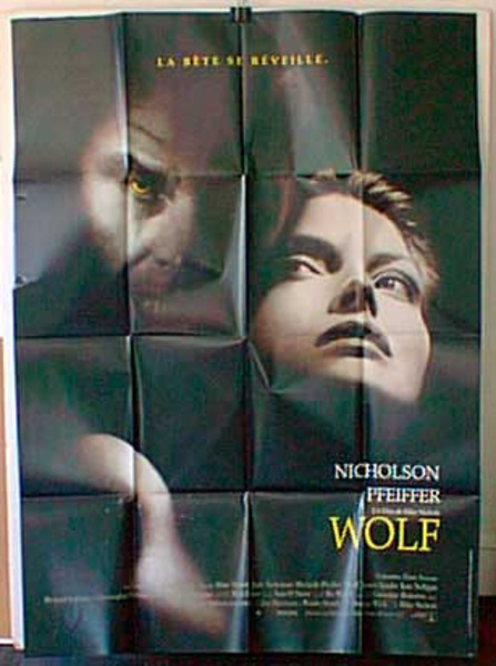 Wolf Original French Movie Poster