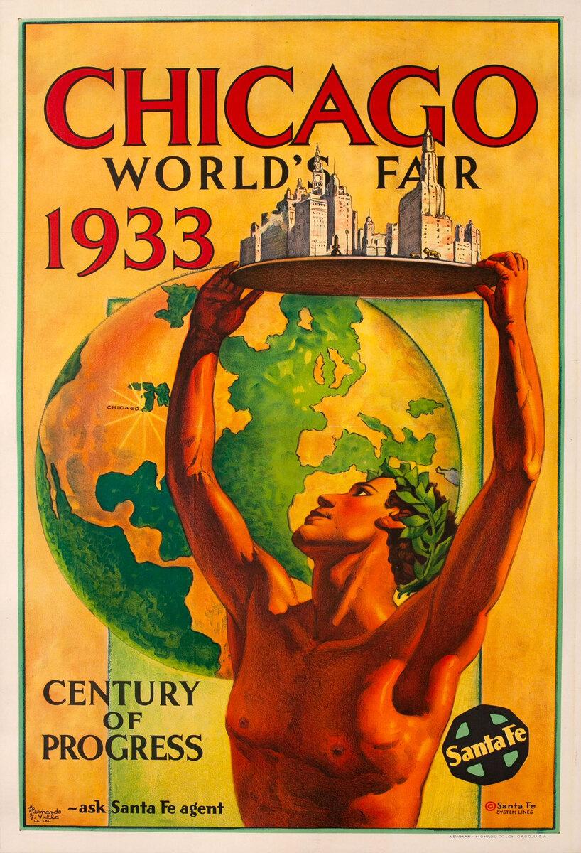 Chicago World's Fair Century of Progress