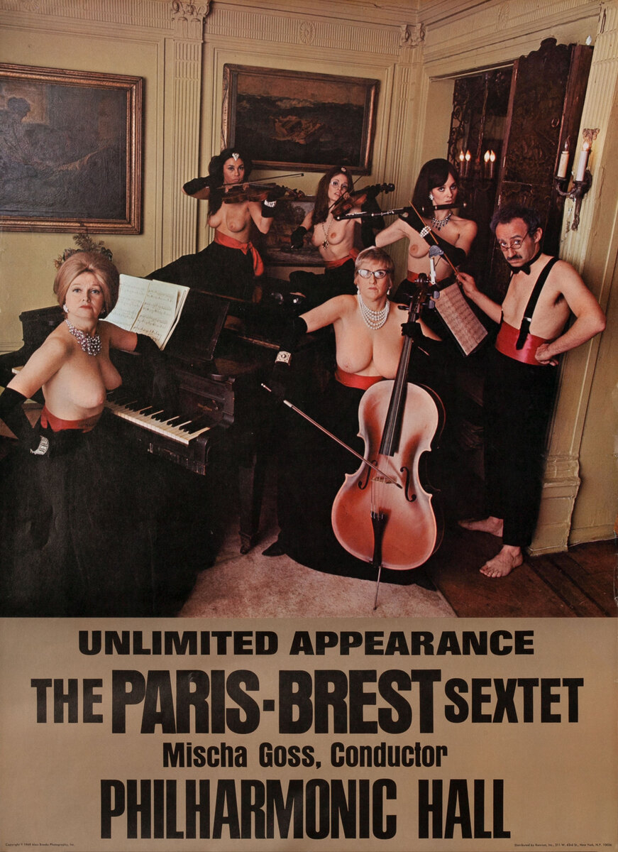 Unlimited Appearence The Paris-Brest Sextet Mischa Goss Conductor Philharmonic Hall