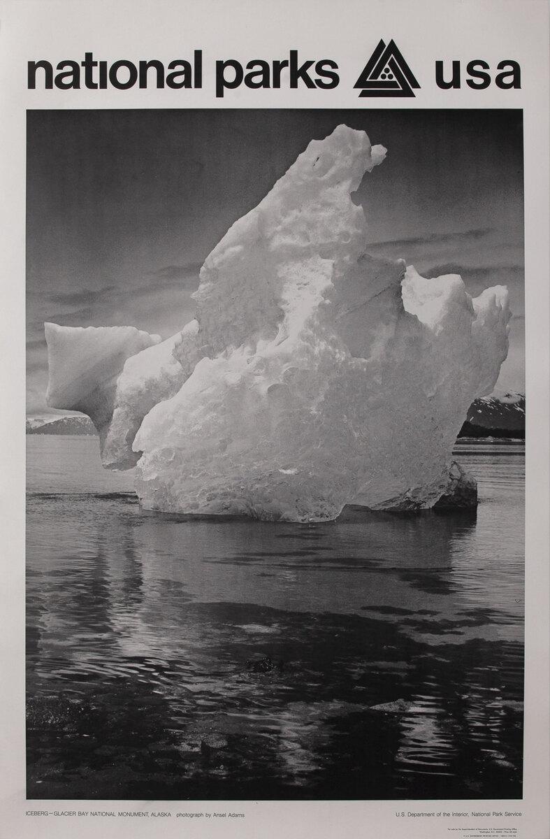 National Parks USA  Glacier Bay National Monument