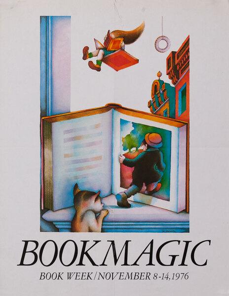 Book Magic - Book Week November 8-14, 1976