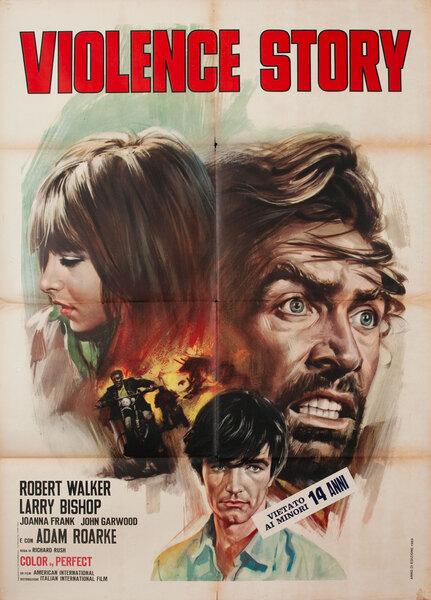 Violence Story original title The Savage Seven