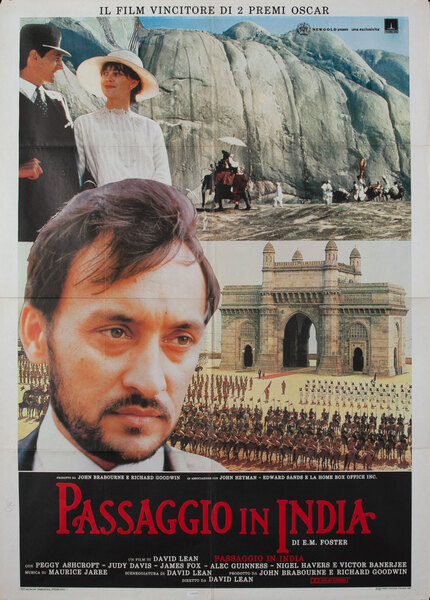 A Passage to India Italian release movie poster
