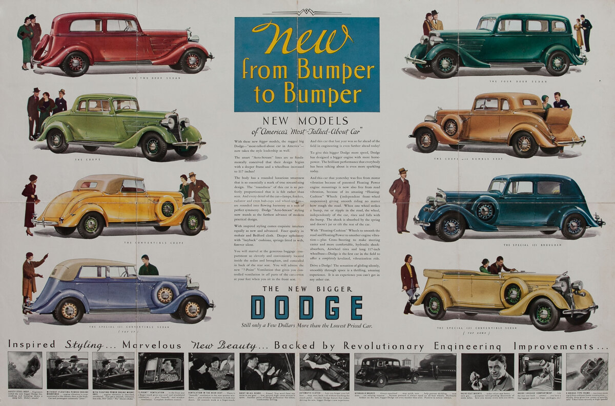 New From Bumber to Bumper The New Bigger Dodge