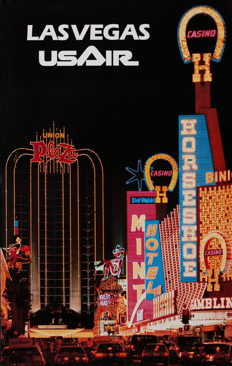 Las Vegas USAir, Neon Signs The Strip, Horseshoe Casino