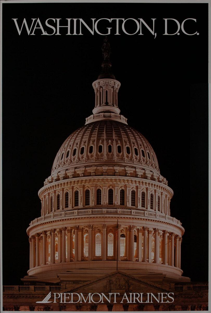 Piedmont Airlines Washington CD Capitol Building