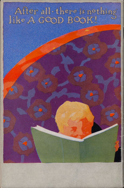 After All There is Nothing Like a Good Book  - Children's Book Catalog Cover
