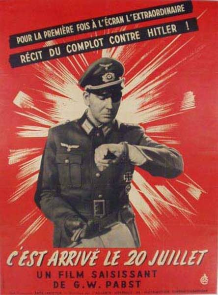 The Hitler Bomb Plot Original Vintage Movie Poster