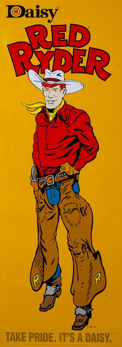 Daisy Red Rider BB Gun Poster - Take Pride, It's a Daisy