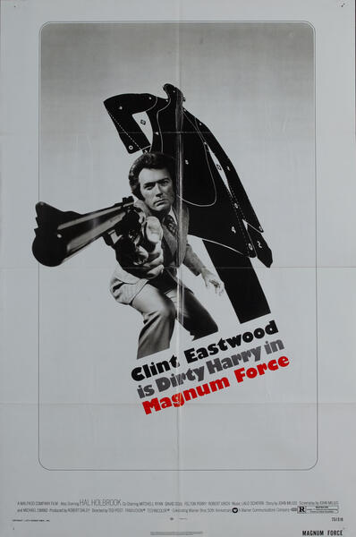 Magnum Force 1 Sheet Movie Poster