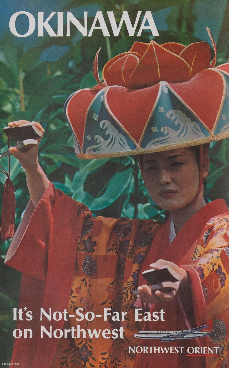 Okinawa It's Not-So-Far East On Northwest Orient