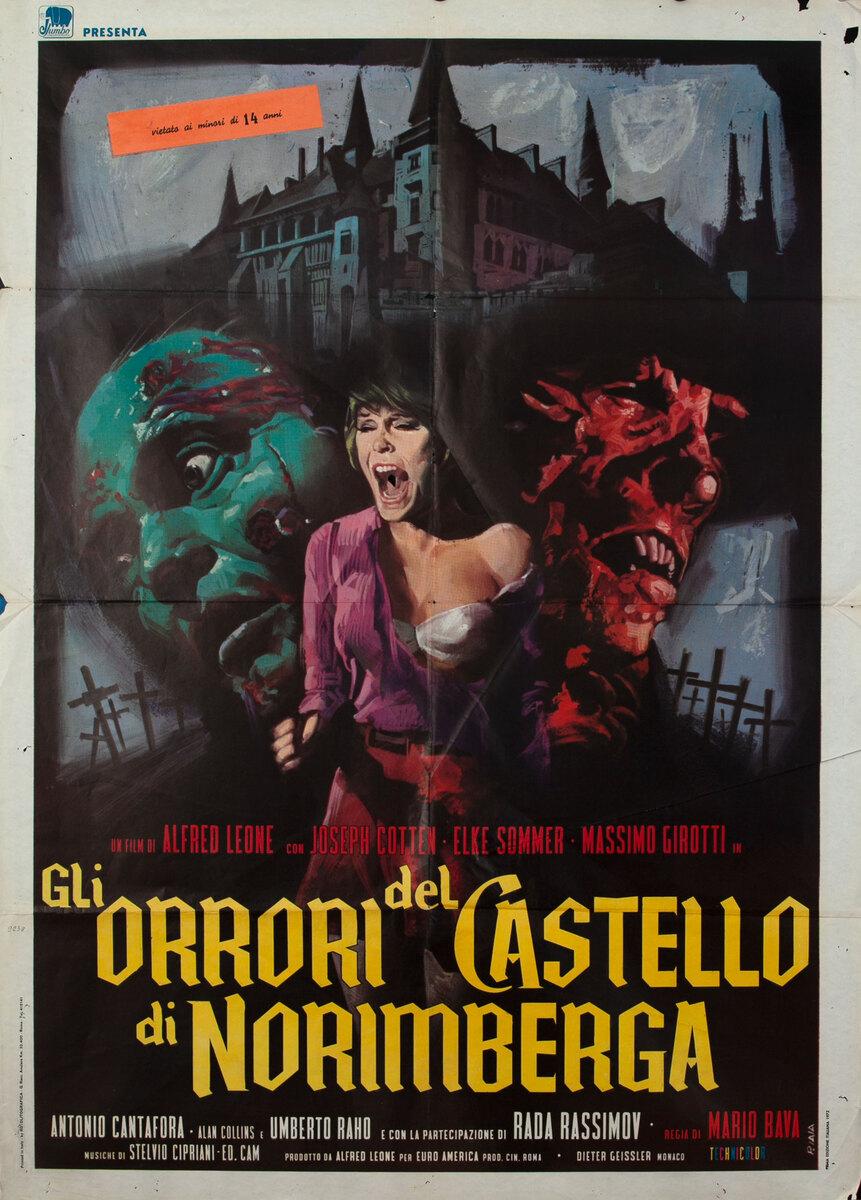 Gli Orrori del Castello di Norimberga - Italian Movie Poster