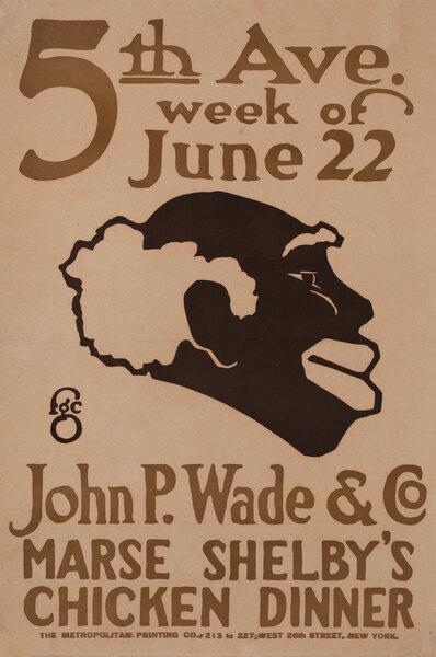 John Wade & Co Marse Shelby's Chicken Dinner