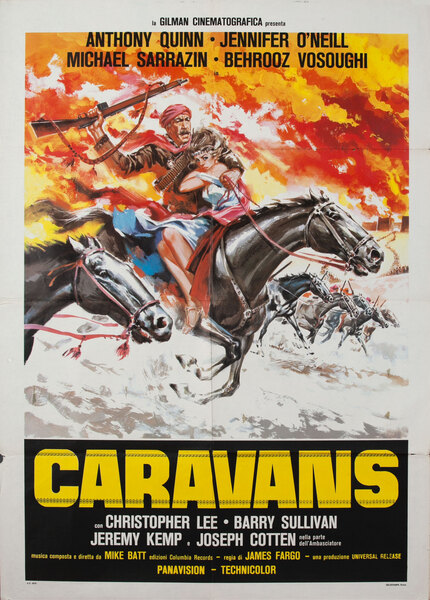 Caravans, Italian Movie Poster