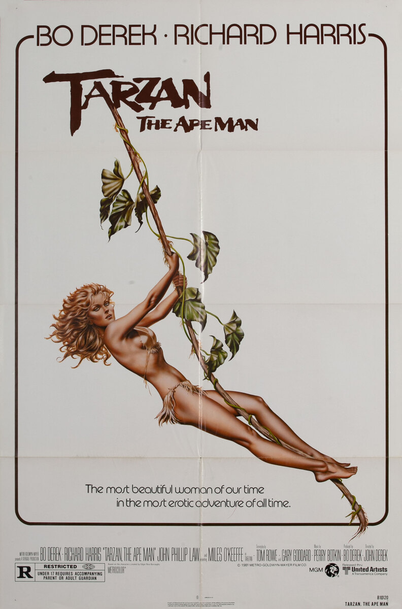 Tarzan the Ape Man American 1 Sheet Movie Poster
