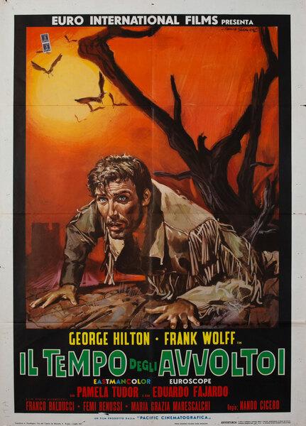 Last of the Badmen (Il tempo degli avvoltoi) Italian Movie Poster