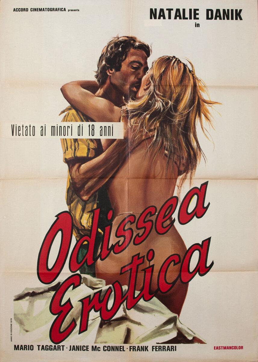 Odissea Erotica Italian X-Rated Movie Poster Original Title Roxani, i odysseia tou sex