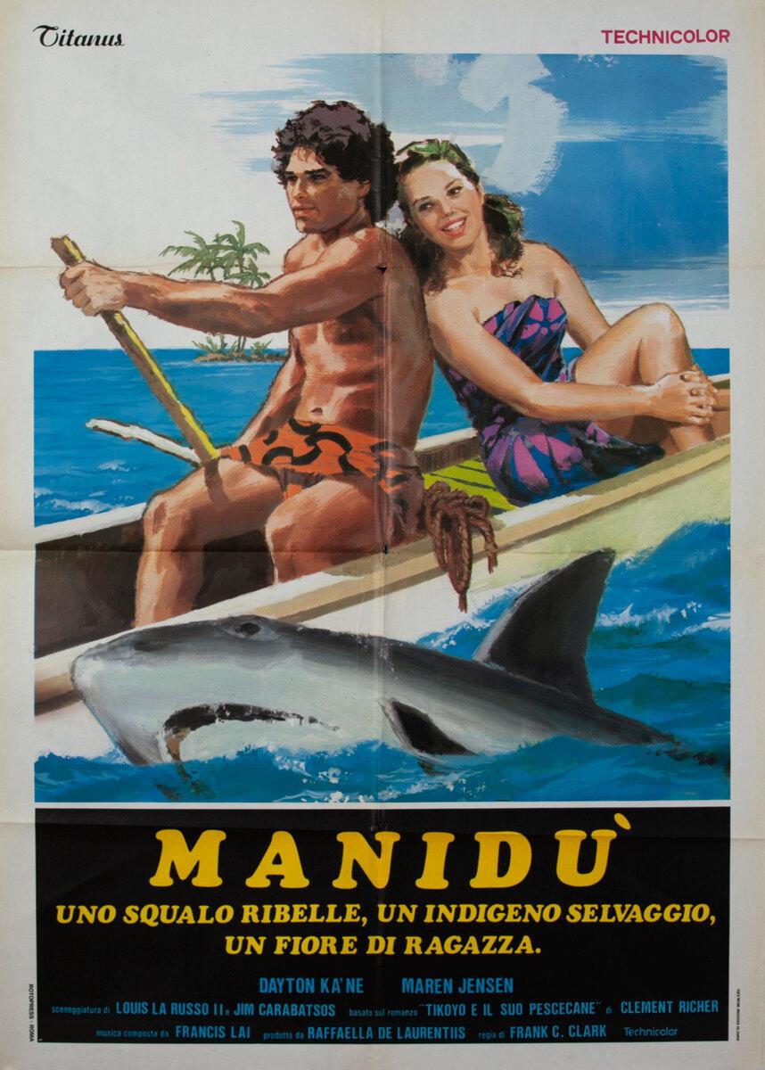 Maniidu (Beyond the Reef) Italian Movie Poster