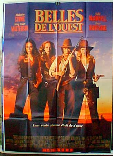 Bad Girls Original French Western Movie