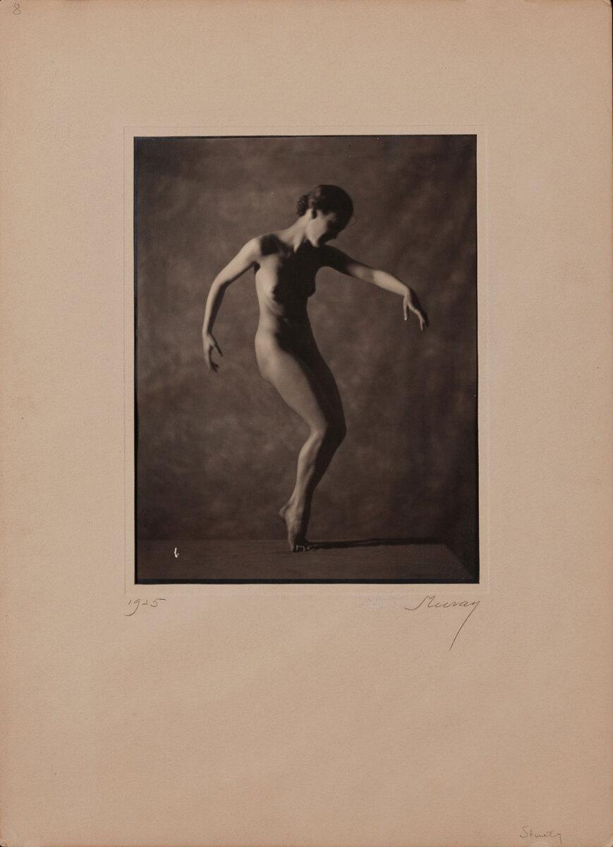 1925 Nickolas Muray Nude Study