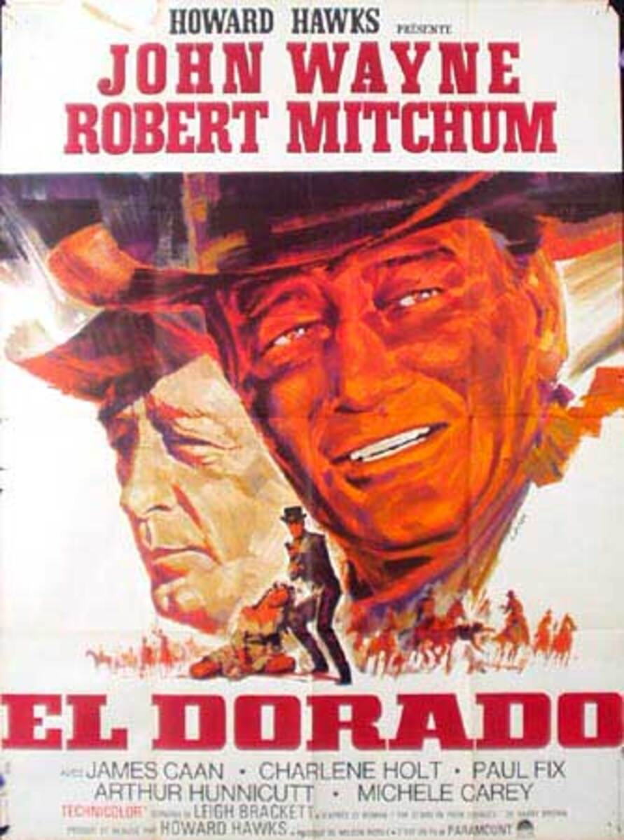 Eldorado Original Vintage Movie Poster French Release