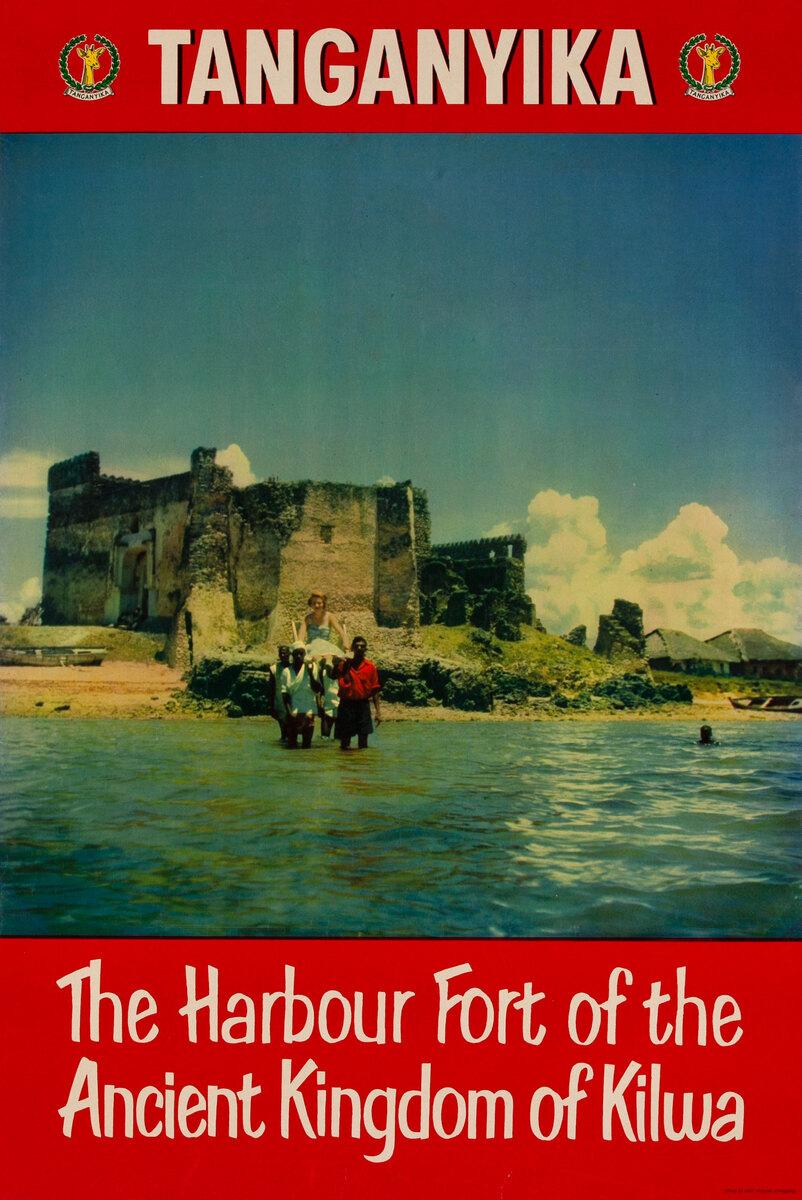 Tanganyika The Harbour Fort of the Ancient Kingdom of Kilwa