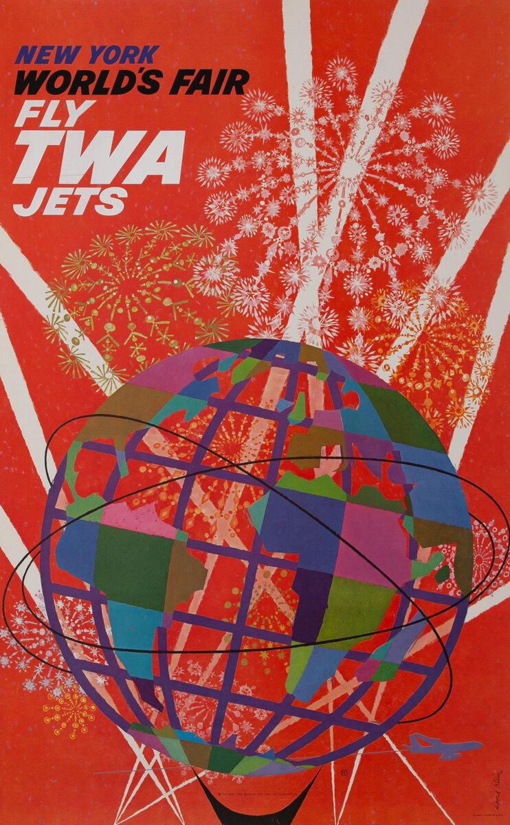 New York World's Fair Fly TWA Jets