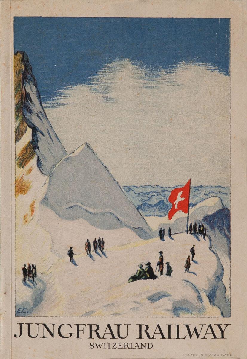 Jungfrau Railway Switzerland Travel Brochure