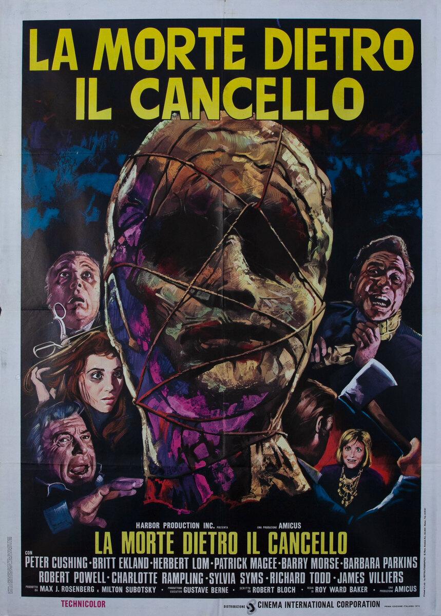 Asylum (La morte dietro il cancello) Italian Movie Poster