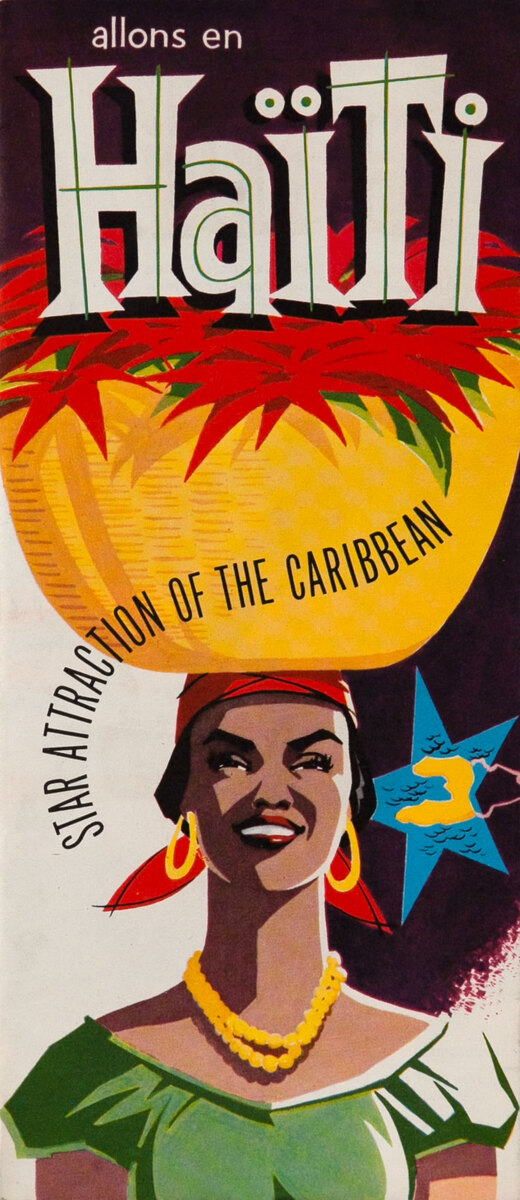 Haiti Star Attraction of the Caribbean travel brochure