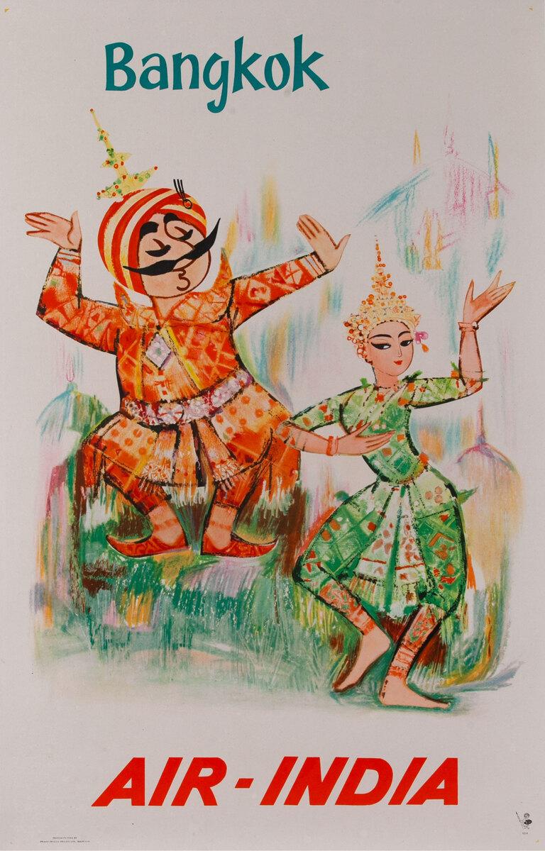 Air India Bangkok - dancers