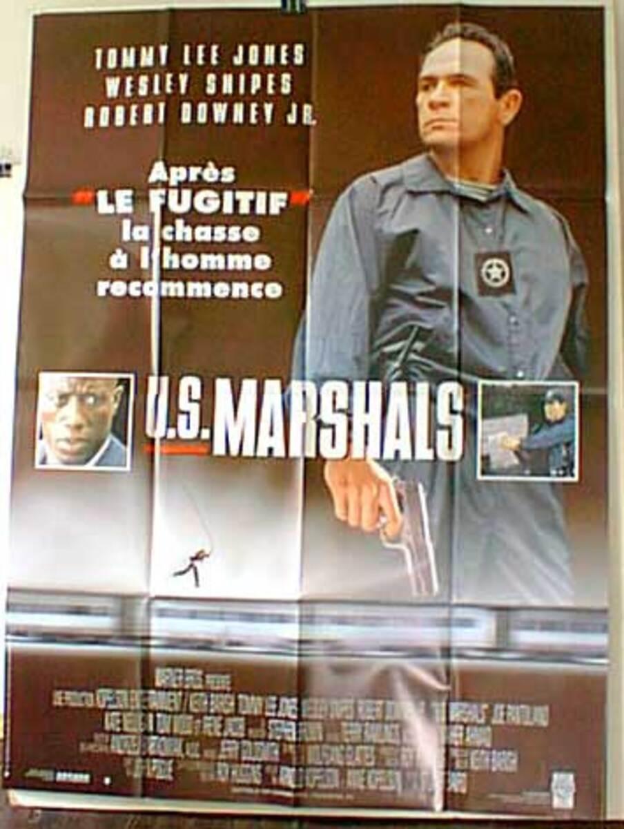 US Marshals Original French Western Movie