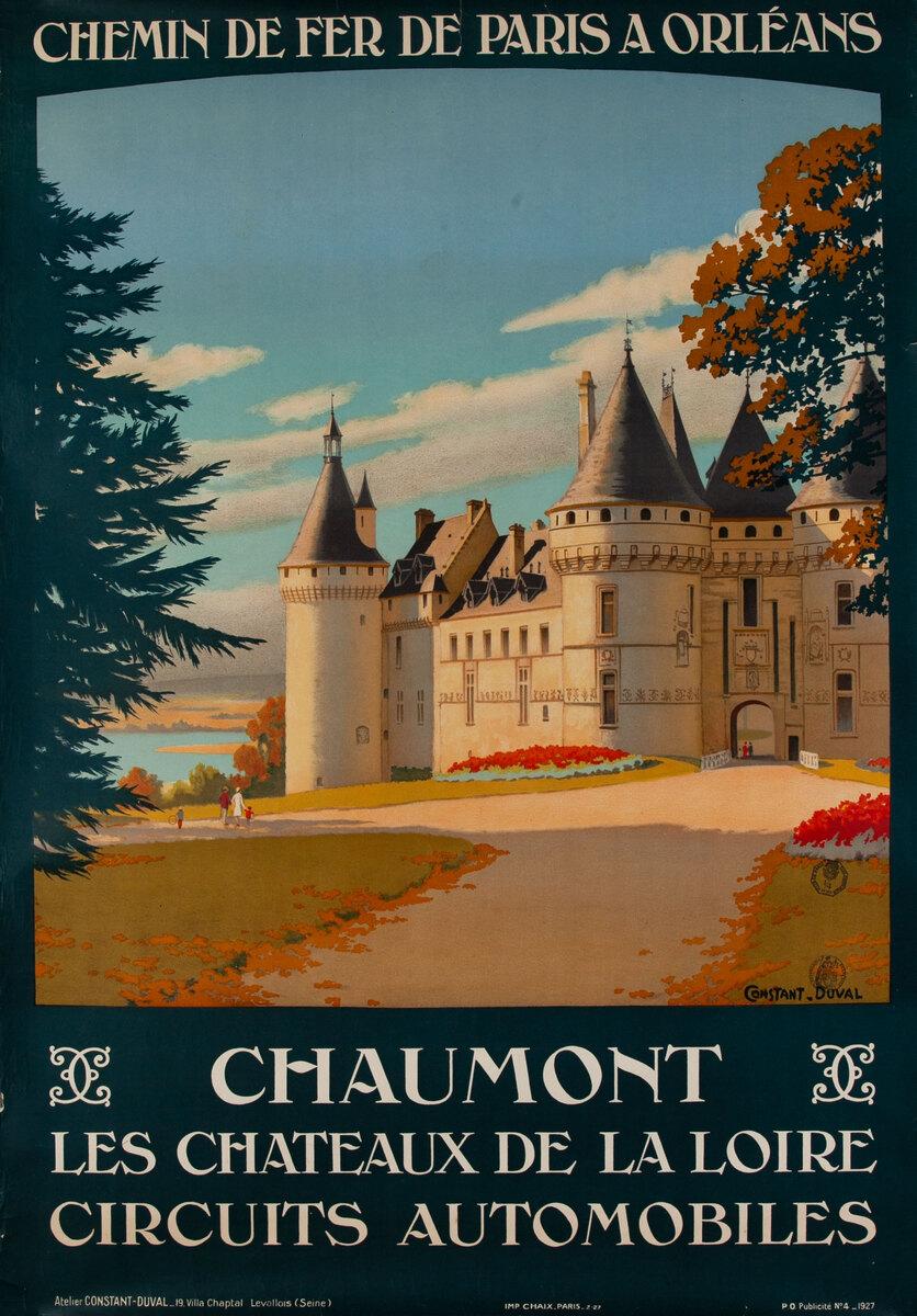Chaumont - Chemin de fer Paris a Orleans