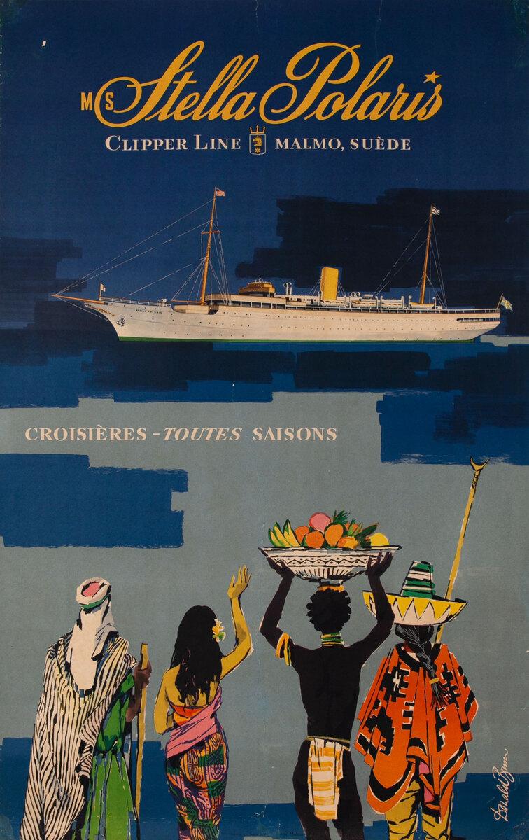 Stella Polaris Clipper Line - Malmo Sweden - Year Round Cruising