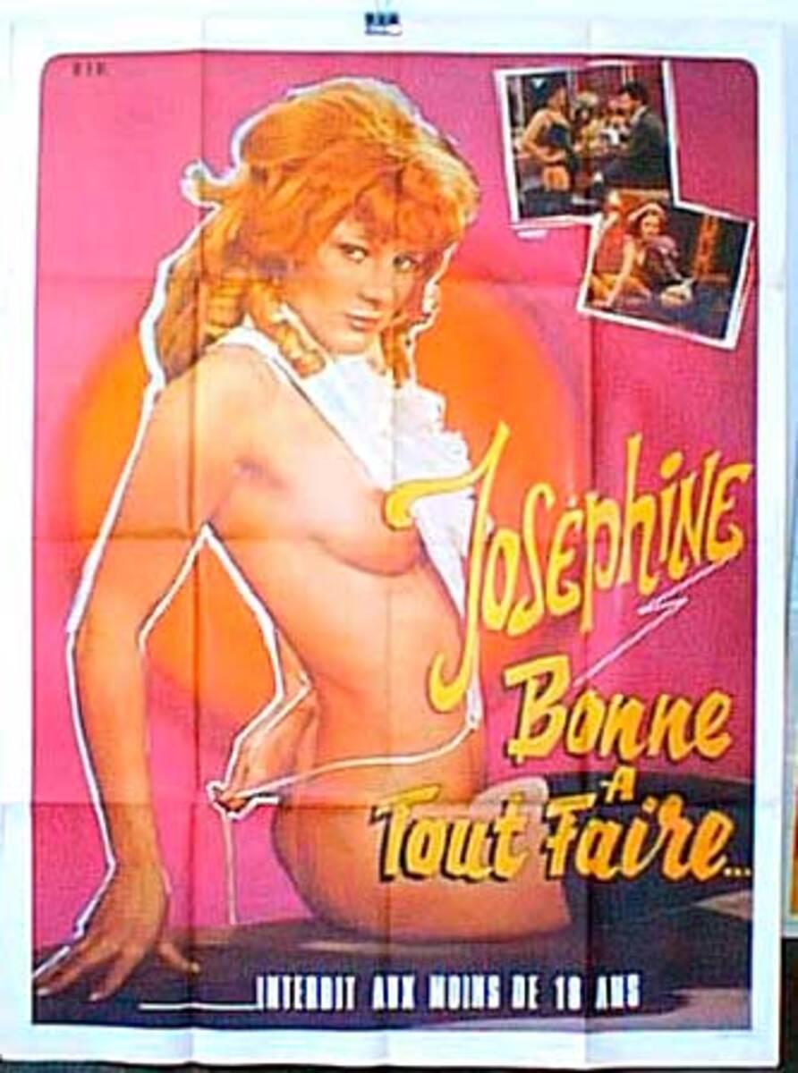 Josephine Original French X-Rated Movie Poster