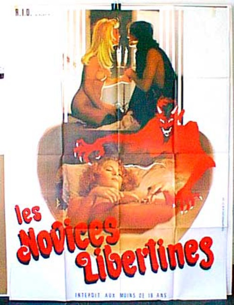 Les Novices Libertines Original French X-Rated Movie Poster