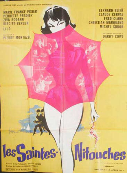 Les Saintes Nitouches Original French Movie Poster